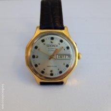 Relojes de pie: RELOJ RUSO SEKONDA URSS- ORO CHAPADO AU1.FINO. -27 RUBÍES-RESTAURADO AUTOMATIC. Lote 187531180