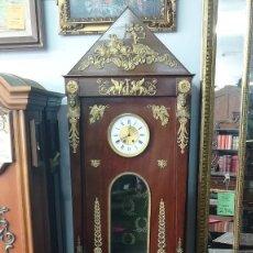 Relojes de pie: RELOJ DE ANTESALA IMPERIO SIGLO XIX. Lote 189267268