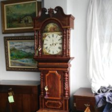 Relojes de pie: RELOJ DE ANTESALA GRANDFATHER EDUARDINO SIGLO XIX. Lote 189267412