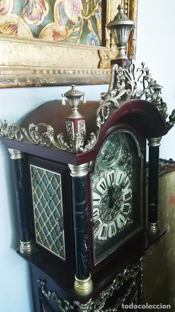 Relojes de pie: RELOJ DE PIE INGLES - Foto 2 - 189267540