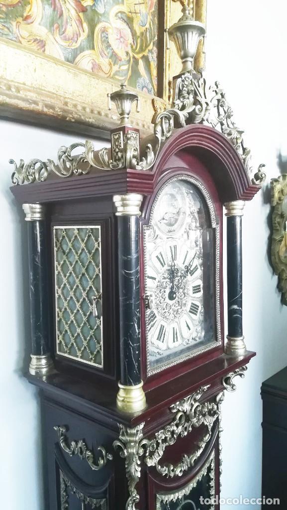 Relojes de pie: RELOJ DE PIE INGLES - Foto 3 - 189267540