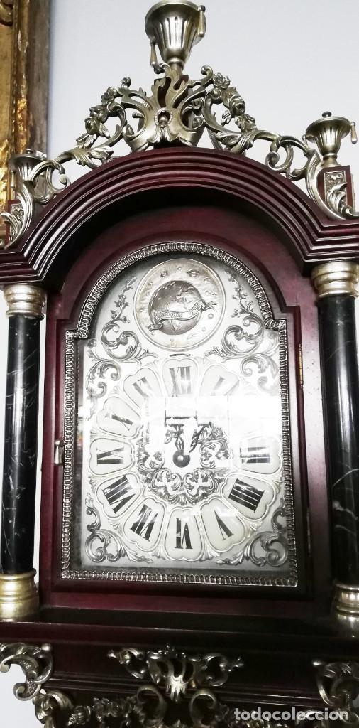 Relojes de pie: RELOJ DE PIE INGLES - Foto 4 - 189267540