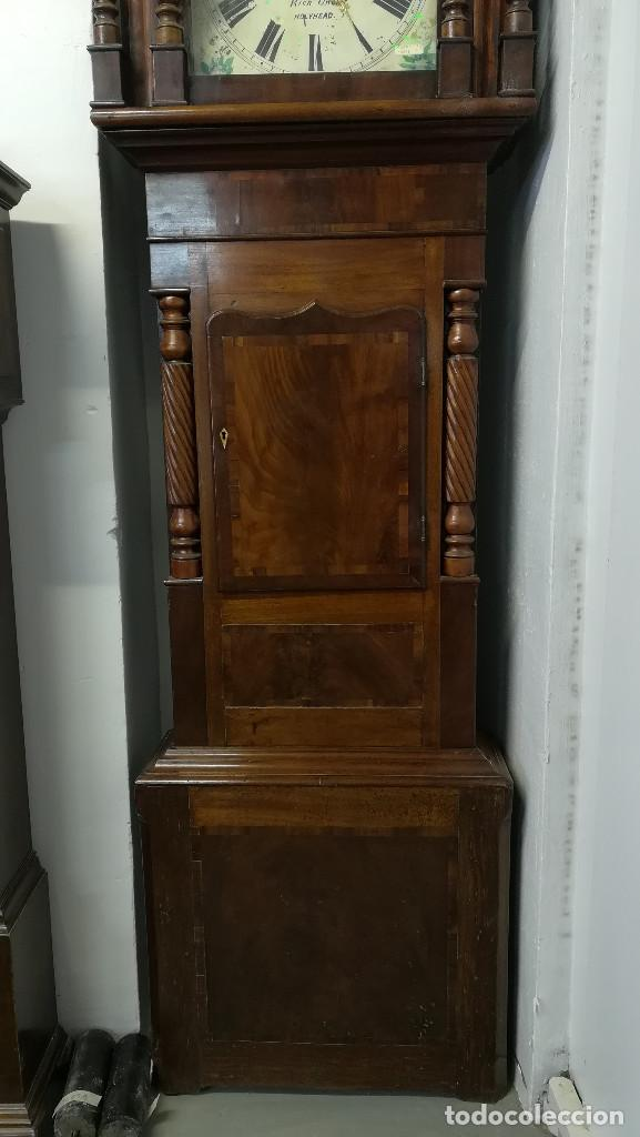 Relojes de pie: RELOJ DE ANTESALA GRANDFATHER INGLES, HOLYHEAD SIGLO XIX - Foto 2 - 189267598