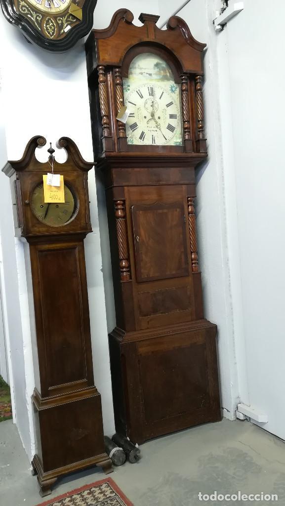 Relojes de pie: RELOJ DE ANTESALA GRANDFATHER INGLES, HOLYHEAD SIGLO XIX - Foto 3 - 189267598