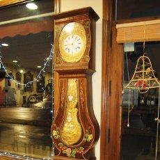 Relojes de pie: RELOJ ANTIGUO DE PIE TIPO MOREZ. Lote 189355192