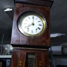 Relojes de pie: RELOJ DE MOREZ CON CAJA DE 2.45 DE ALTO PRECIO 350. Lote 189438985