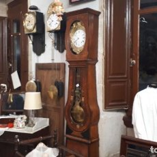 Relojes de pie: RELOJ MOREZ CON CAJA. Lote 190174728