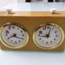 Relojes de pie: RELOJ CRONOMETRO DE AJEDREZ. MADE IN WEST GERMANY. FUNCIONANDO. COMO NUEVO.. Lote 192182396