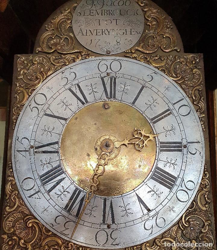 Relojes de pie: RELOJ MORET F.JACOB SLEMBROUCK TOP ALVERYNGHEM 1783 - Foto 5 - 192301115