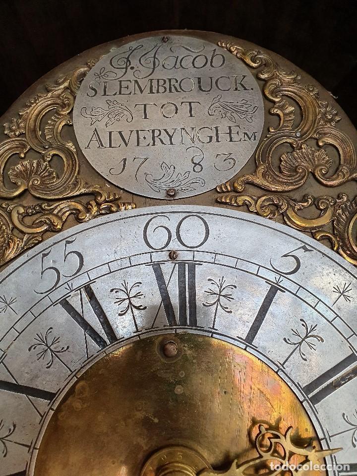 Relojes de pie: RELOJ MORET F.JACOB SLEMBROUCK TOP ALVERYNGHEM 1783 - Foto 6 - 192301115