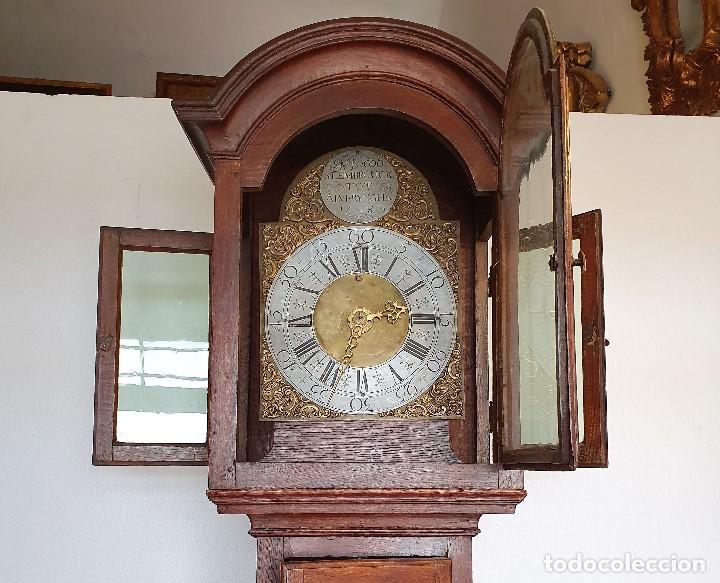 Relojes de pie: RELOJ MORET F.JACOB SLEMBROUCK TOP ALVERYNGHEM 1783 - Foto 7 - 192301115