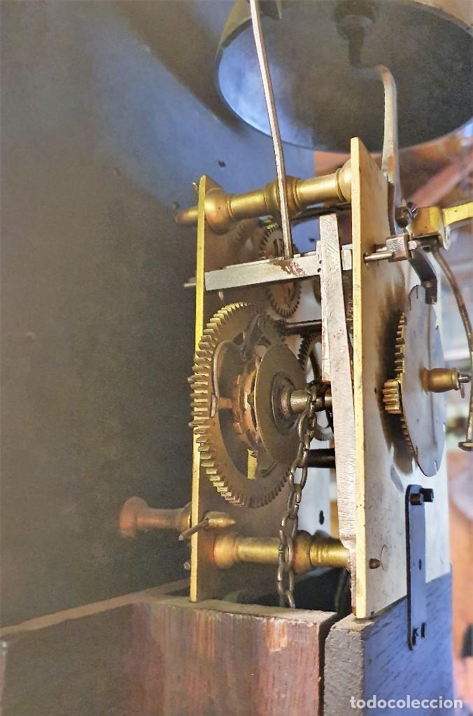 Relojes de pie: RELOJ MORET F.JACOB SLEMBROUCK TOP ALVERYNGHEM 1783 - Foto 8 - 192301115