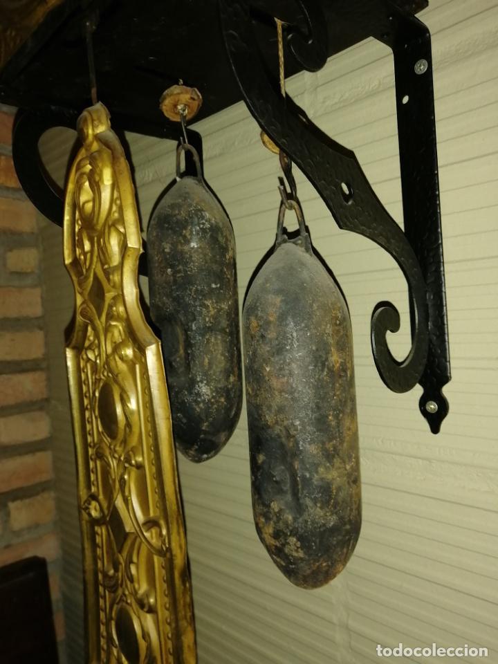 Relojes de pie: RELOJ PENDULO REAL POLICROMADO - Foto 2 - 192745982