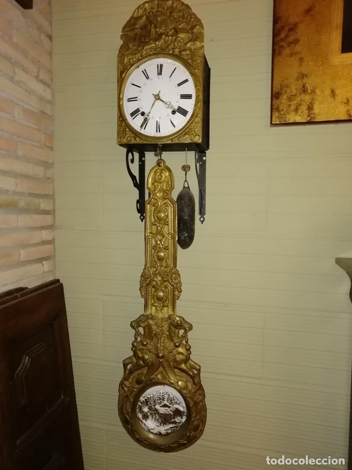 RELOJ PENDULO REAL POLICROMADO (Relojes - Pie Carga Manual)