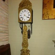 Relojes de pie: RELOJ PENDULO REAL POLICROMADO. Lote 192745982