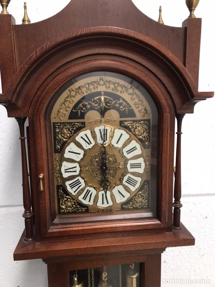Relojes de pie: Reloj de pie carrillón freno Soneria Westminster - Foto 2 - 193656013