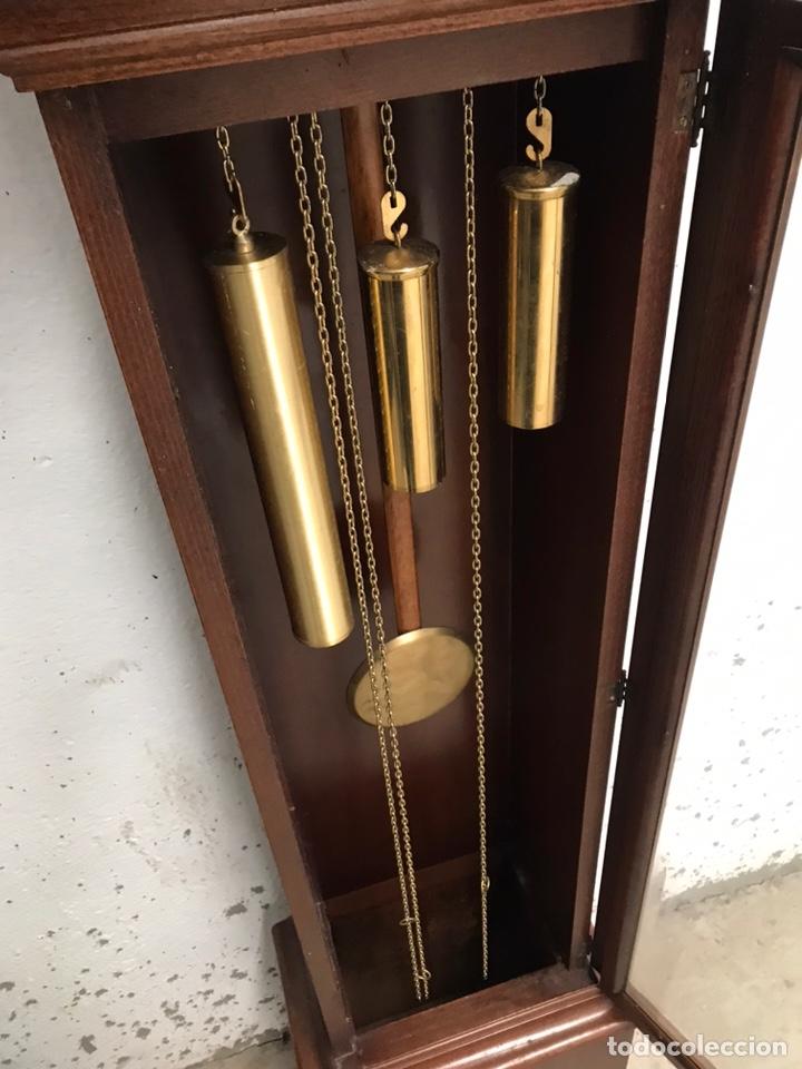 Relojes de pie: Reloj de pie carrillón freno Soneria Westminster - Foto 5 - 193656013