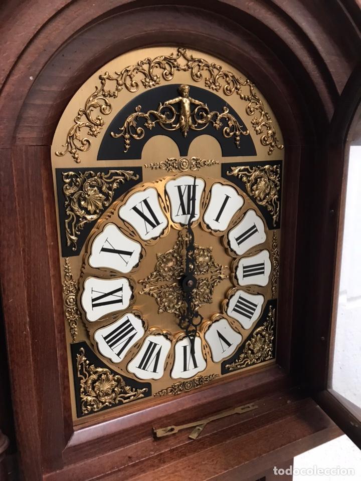 Relojes de pie: Reloj de pie carrillón freno Soneria Westminster - Foto 6 - 193656013