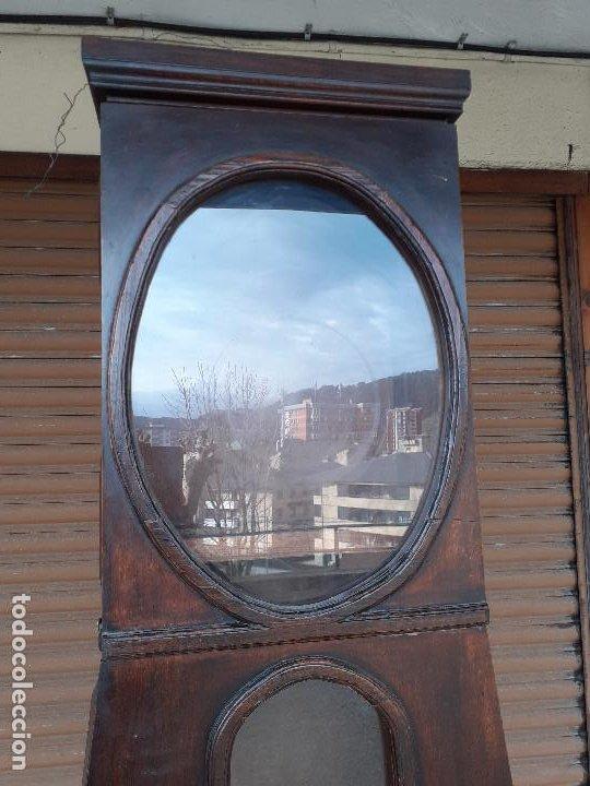 Relojes de pie: Caja de reloj Morez del siglo XIX, de estilo vasco - Foto 2 - 193900641