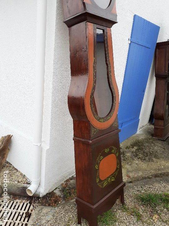 Relojes de pie: Caja de reloj Morez - Foto 5 - 194161863