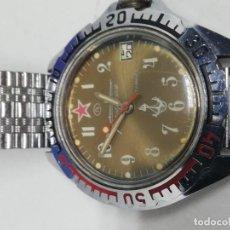 Relojes de pie: RELOJ BOCTOK MILITAR SOVIÉTICO CARGA MANUAL FUNCIONA. Lote 195098312