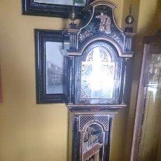 Relojes de pie: RELOJ DE PIE 200X35X25CTMS DECORACIÓN CON PINTURAS ( JAPONÉS... CHINO...) FUNCIONA PERFECTAMENTE. Lote 195378618