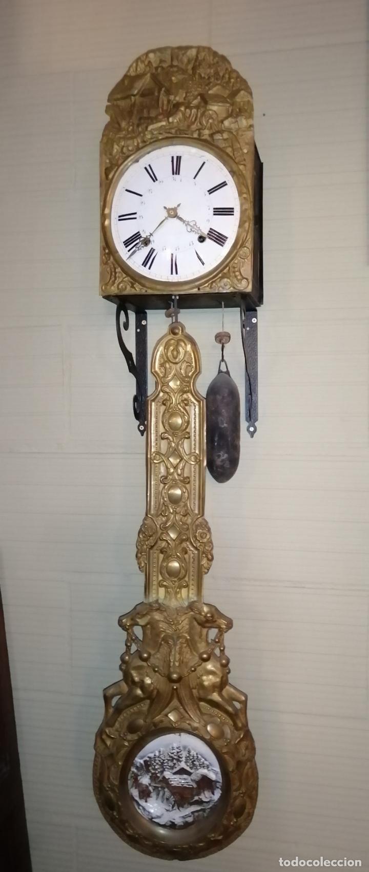 Relojes de pie: RELOJ PENDULO REAL POLICROMADO - Foto 7 - 192745982