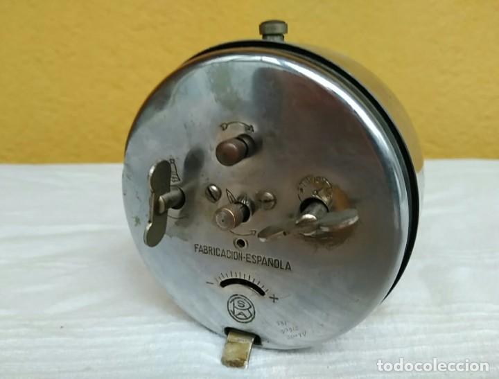 Relojes de pie: Antiguo reloj despertador de cuerda años 50, marca CID - Foto 2 - 196052530