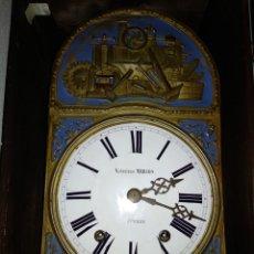 Relojes de pie: RELOJ MOREZ PENDULO REAL MOVIMIENTO. Lote 196309723