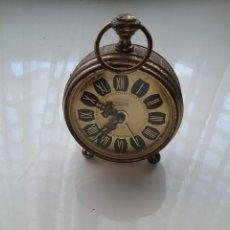 Relógios de pé: RELOJ DESPERTADOR DE CUERDA MARCA KAISER. FUNCIONA.. Lote 201726130