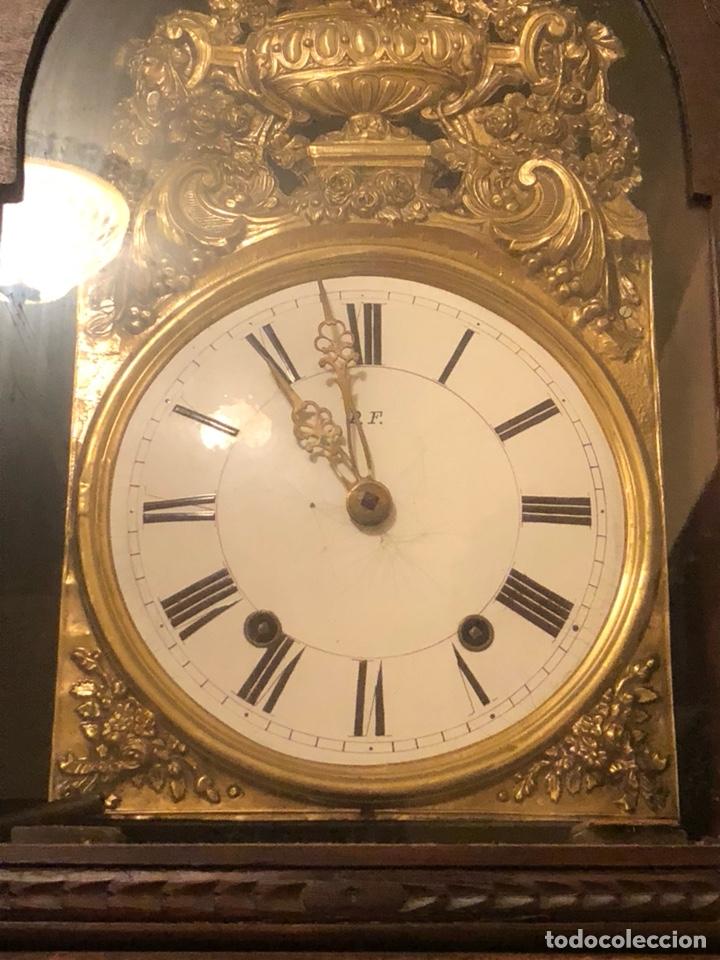 Relojes de pie: Reloj morez antiguo, siglo XIX sólo recogida - Foto 2 - 203951810