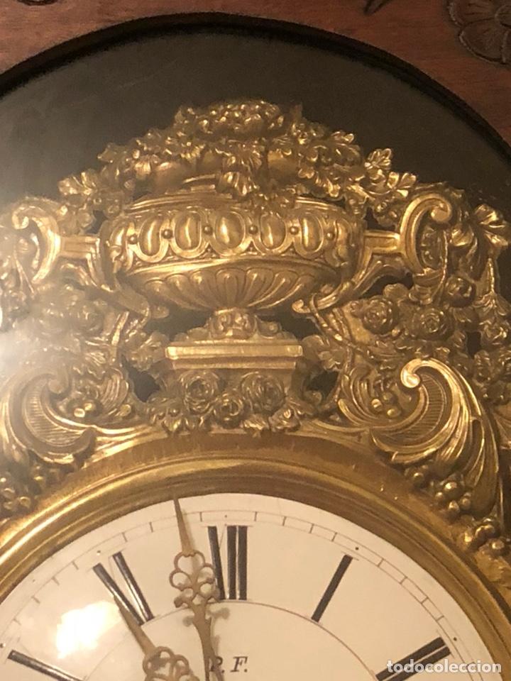 Relojes de pie: Reloj morez antiguo, siglo XIX sólo recogida - Foto 3 - 203951810