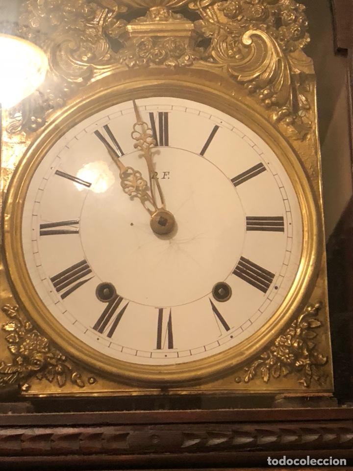 Relojes de pie: Reloj morez antiguo, siglo XIX sólo recogida - Foto 4 - 203951810