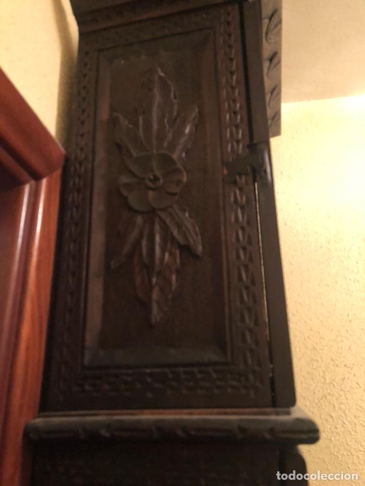 Relojes de pie: Reloj morez antiguo, siglo XIX sólo recogida - Foto 10 - 203951810