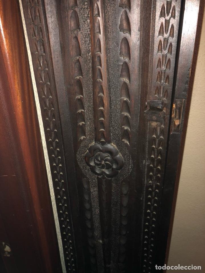 Relojes de pie: Reloj morez antiguo, siglo XIX sólo recogida - Foto 11 - 203951810