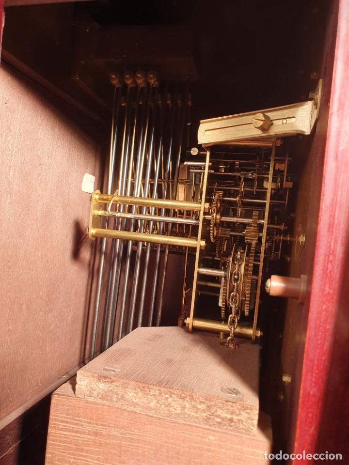 Relojes de pie: Reloj cargas y péndulo Lafuente - Foto 3 - 204376022