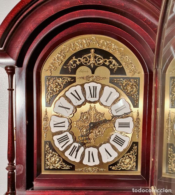 Relojes de pie: Reloj cargas y péndulo Lafuente - Foto 4 - 204376022