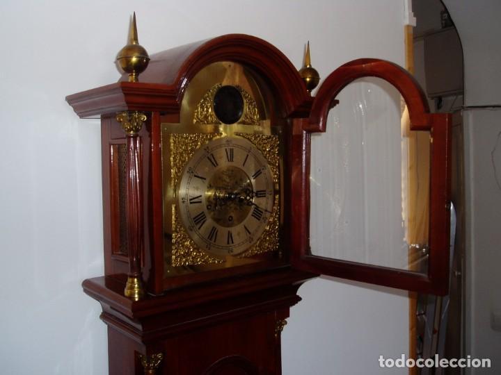 Relojes de pie: RELOJ DE PIE, FABRICACION SANTOS ALONSO CABALLERO, 1955 - Foto 3 - 205852491