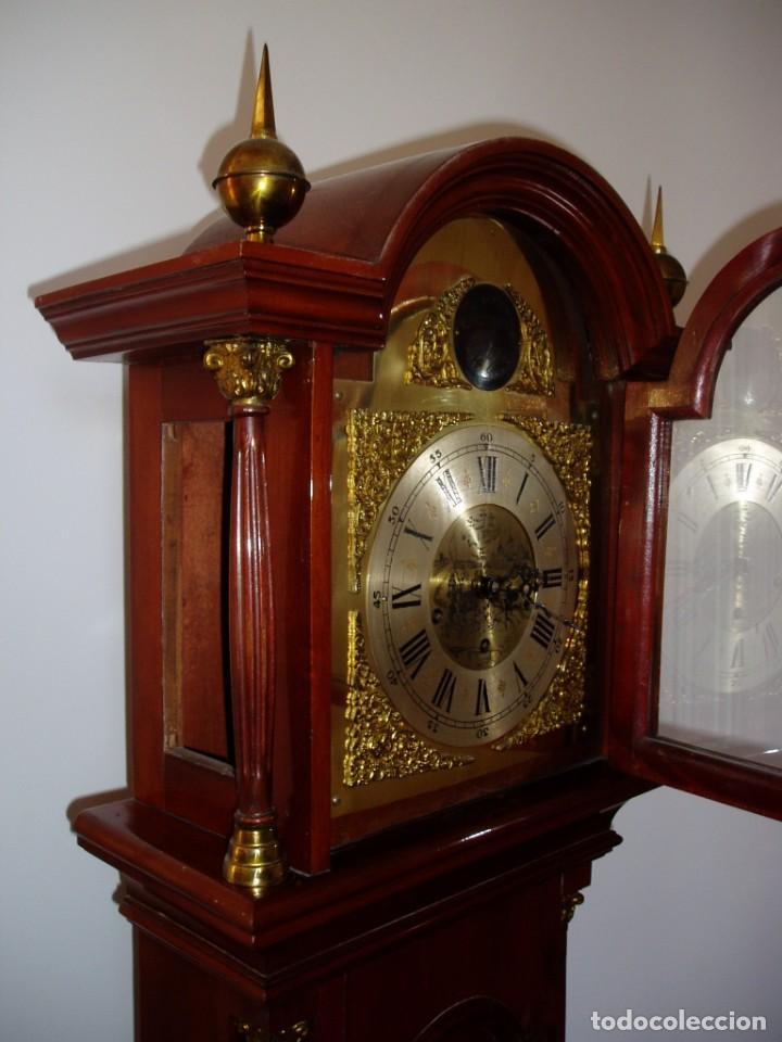 Relojes de pie: RELOJ DE PIE, FABRICACION SANTOS ALONSO CABALLERO, 1955 - Foto 5 - 205852491