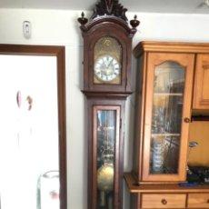 Relojes de pie: RELOJ DE PIE CARGA MANUAL , AÑO 1700, MAQUINARIA ORIGINAL. Lote 206854240