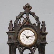 Relojes de pie: PRECIOSO RELOJ AUTOMATA. FRAILE TOCANDO LA CAMPANA. SIGLO XIX. Lote 206990811
