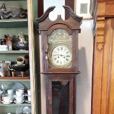Relojes de pie: RELOJ DE PIE , MADERA CASTAÑO. Lote 207057545