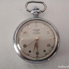 Relojes de pie: RELOJ DE COLECCION PEQUEÑO MARCA DOGMA DE CUERDA TIPO ENFERMERA. Lote 209265247