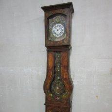 Relojes de pie: RELOJ DE PIE - MAQUINA MOREZ - MOVIMIENTO AUTÓMATA EQUILIBRISTA, CIRCO - FUNCIONA - COMPLETO -S. XIX. Lote 209594322
