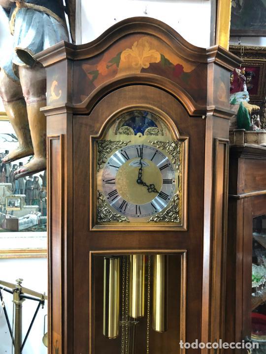 Relojes de pie: RELOJ CARRILLON DIAMANTINI DOMENICONI CON MEDIDAS 206X49X26 CM - Foto 3 - 209614206