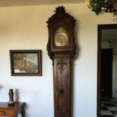 Relojes de pie: ESPECTACULAR RELOJ DE UNA PESA, MOVIMIENTO SIGLO XVI, CAJA XIX. SPECTACULAR CLOCK XVI. Lote 64613199