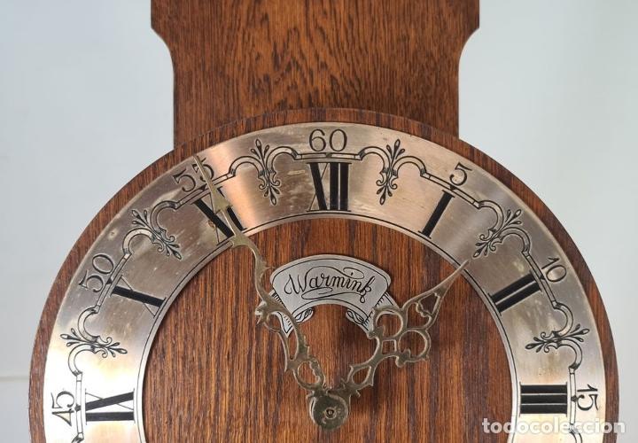 Relojes de pie: GRANDFATHER. RELOJ DE CARRILLÓN. WARMINK. INGLATERRA. CIRCA 1950. - Foto 4 - 209998818
