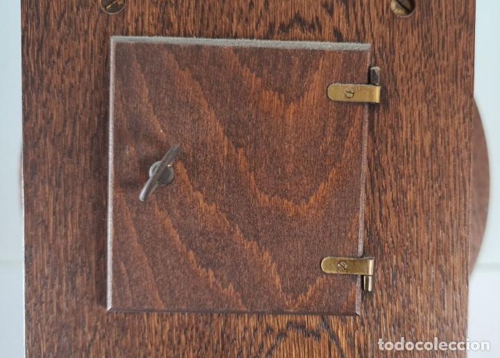 Relojes de pie: GRANDFATHER. RELOJ DE CARRILLÓN. WARMINK. INGLATERRA. CIRCA 1950. - Foto 5 - 209998818