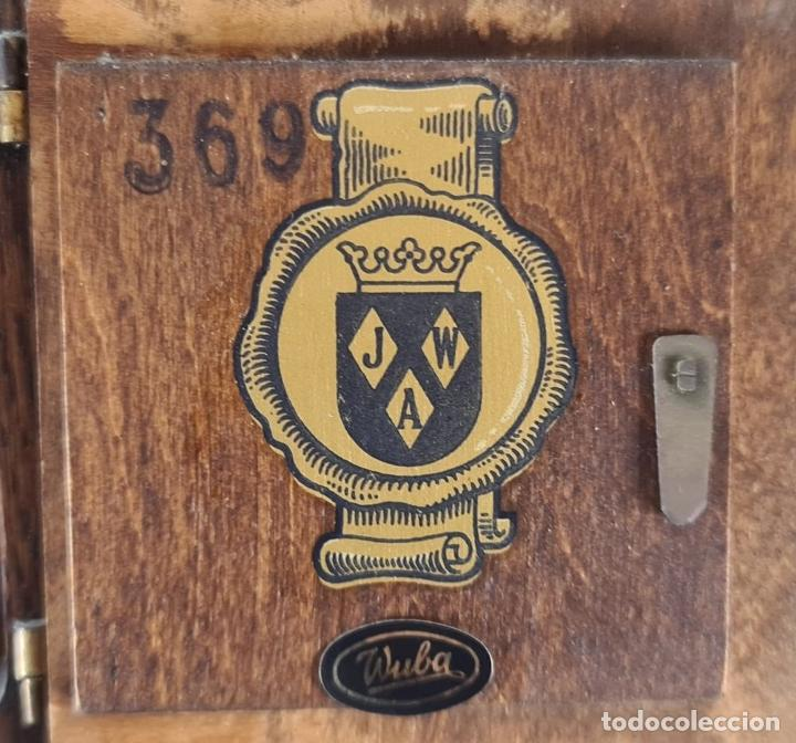 Relojes de pie: GRANDFATHER. RELOJ DE CARRILLÓN. WARMINK. INGLATERRA. CIRCA 1950. - Foto 6 - 209998818