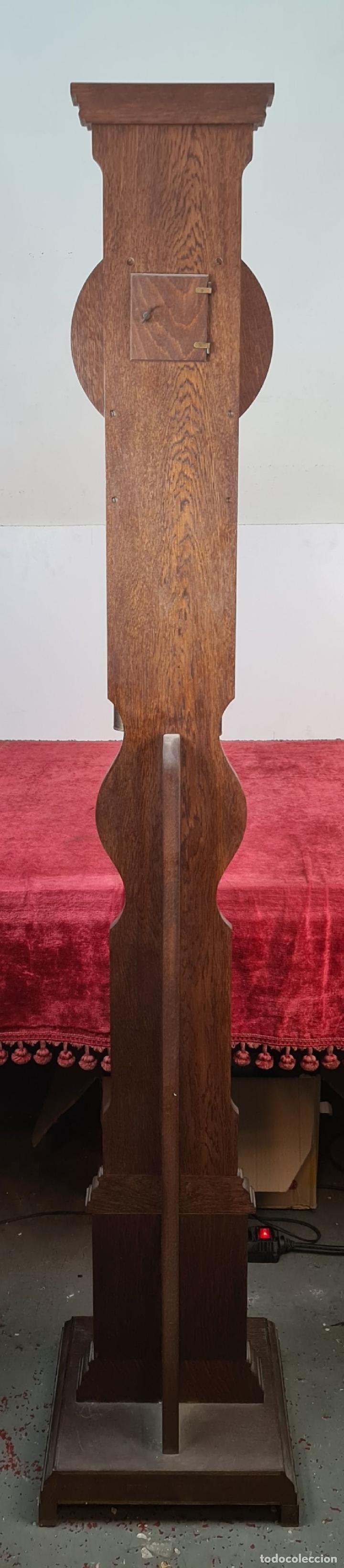Relojes de pie: GRANDFATHER. RELOJ DE CARRILLÓN. WARMINK. INGLATERRA. CIRCA 1950. - Foto 14 - 209998818